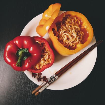 Capsicum Noodles