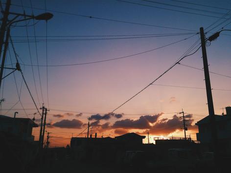 Darkness approaches Henoko