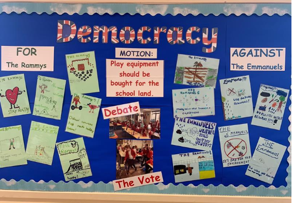 Democracy display