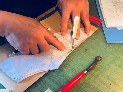 型紙作成作業