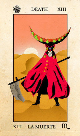 Character Design Challenge: Death Tarot