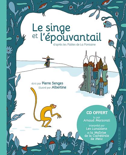 Le Singe et l'Épouvantail - couverture.