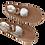 Thumbnail: CANVAS SPLIT-SOLE BALLET SHOE