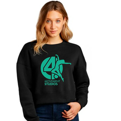 Long Sleeve Green Logo Shirt