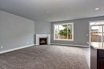 Modern and completely gray unfurnished i