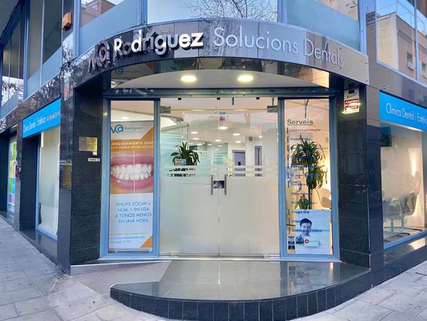 Entrada Rodriguez Solucions Dentals