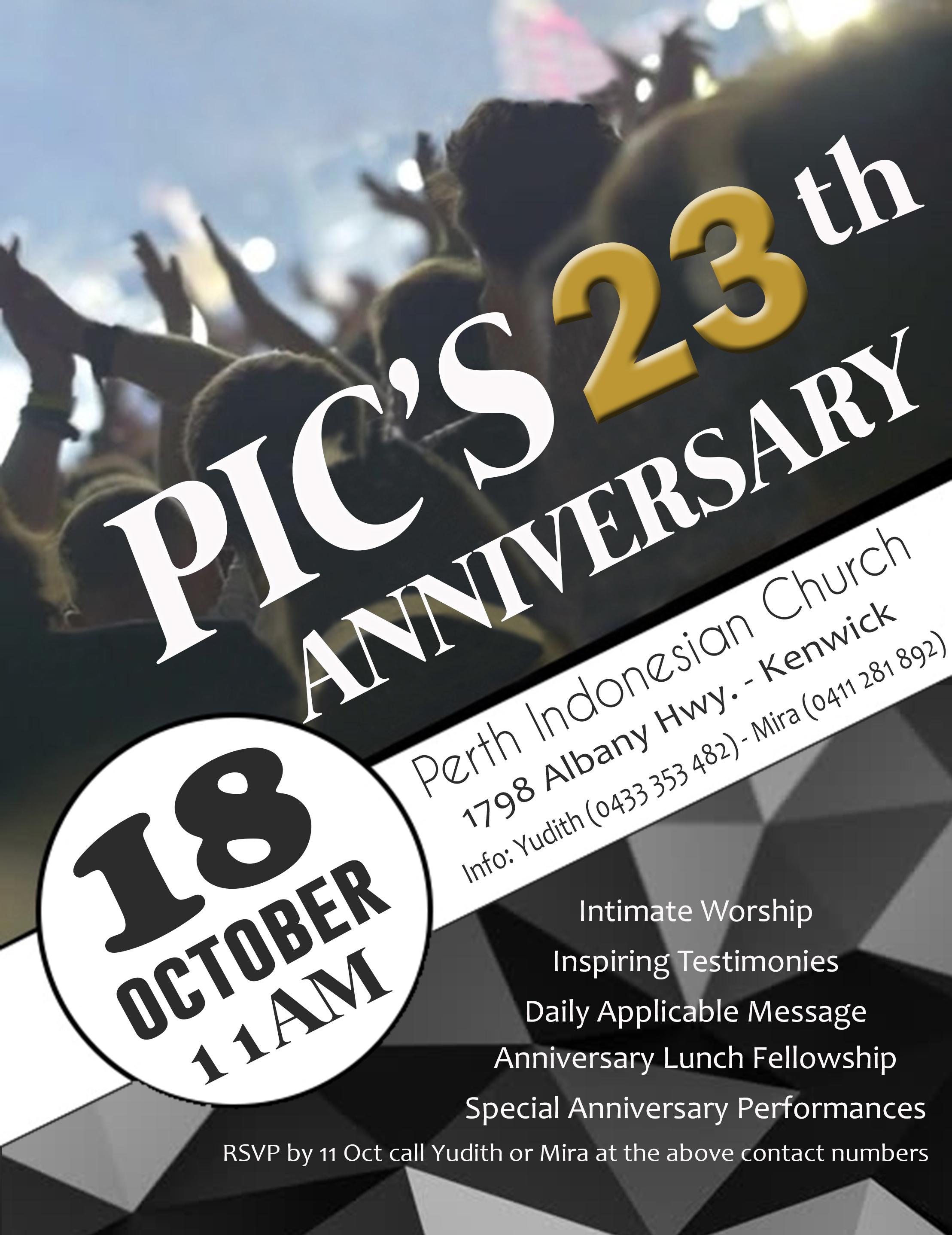 PIC's Anniversary 2020