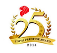 FORMULA ONE FURNICHE Pte Ltd, the most powerful name in Hospitality Solutions, WON THE TOPM 25 PRESTIGE AWARD 2014