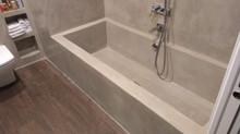 Una bañera para relajarse