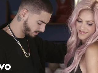 Maluma & Shakira, Nicky Jam, Luis Fonsi, J Blavin Los 5 Mejores Reggaeton Mix 2017 - Megamix Vol