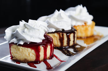 Cheesecake Trio