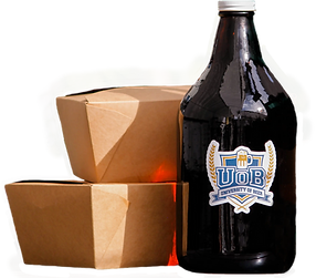 Beer growler and togo food