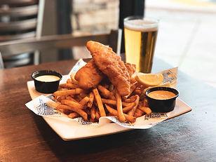 Beer-Battered Fish & Chips