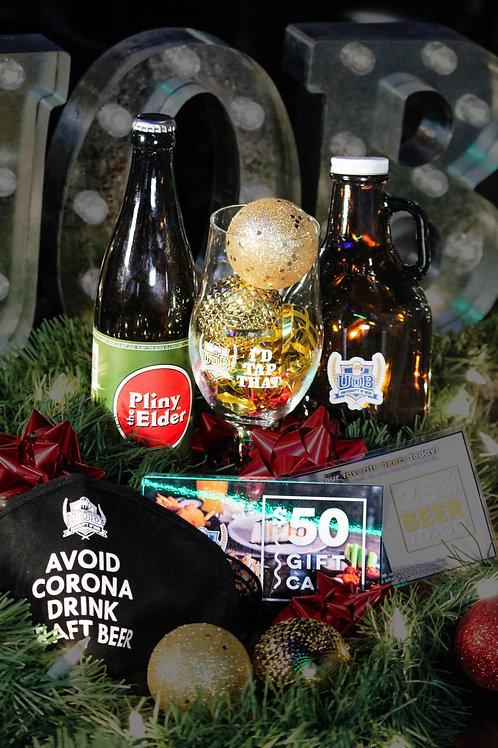 Beer Lover's Holiday Gift Basket