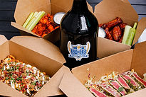 25% off beer to-go special valid with any take-out food purchase only. Available in 64oz and 32oz growlers!