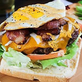 Hangover Cure Burger