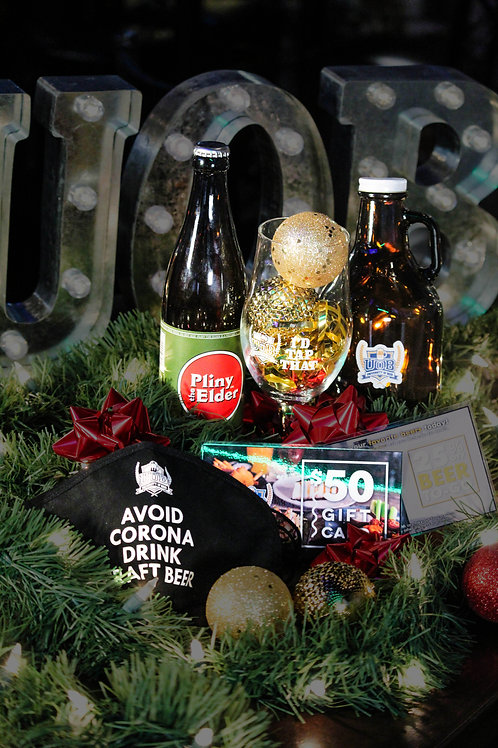 Beer Lover's Holiday Gift Basket