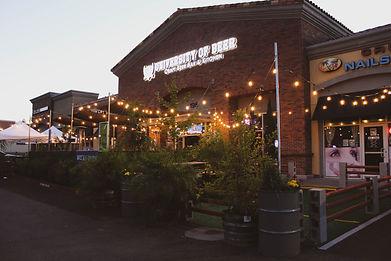 UoB Rocklin patio