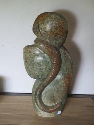 beeld met slang