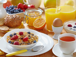 "BREAKFAST:   The ""kick start"" of Energy"
