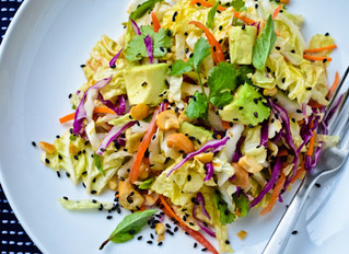 RedHOT Crunchy Cabbage Salad