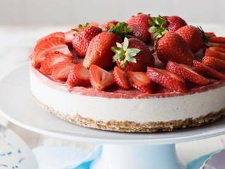 Raw Strawberry Cheesecake (vegan)