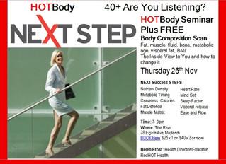 NEXT STEP and BODY SCAN Seminar