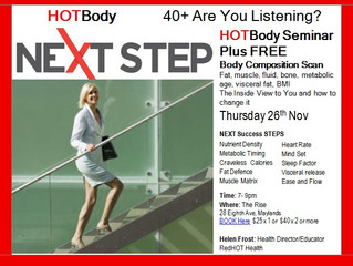 NEXT STEP and BODY SCAN Seminar