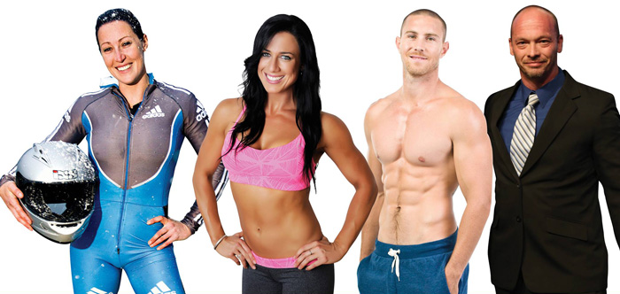 Isagenix athletes