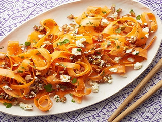 Carrot, Date and Feta Salad