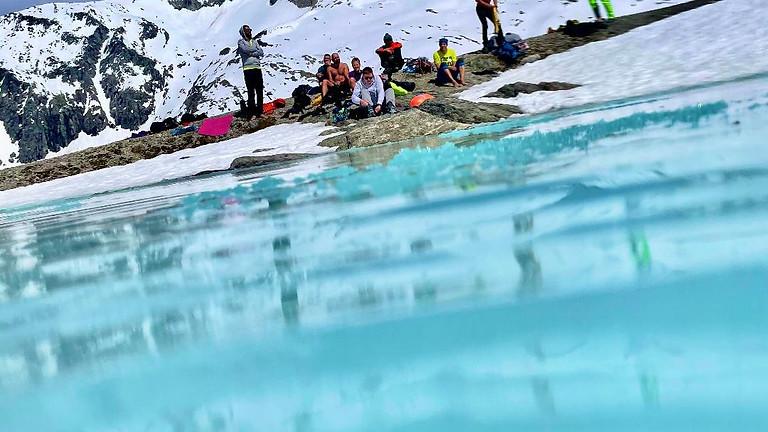 Eisschwimm-Workshop Hintertuxer Gletscher im Doppelzimmer