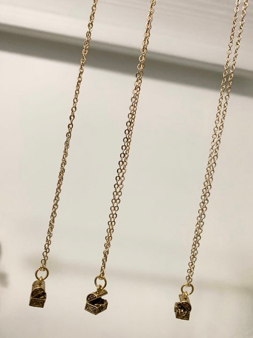 POTWC Treasure Chest Necklace
