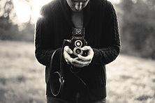 Black & White camera shot