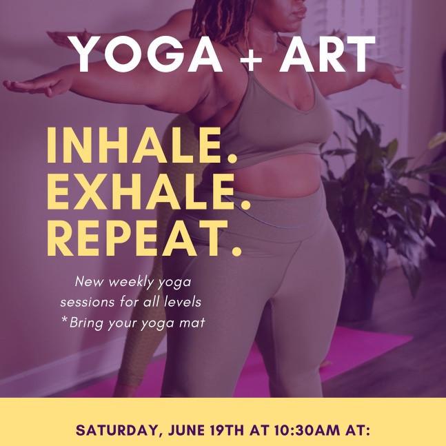 Yoga + Art 6/19/21