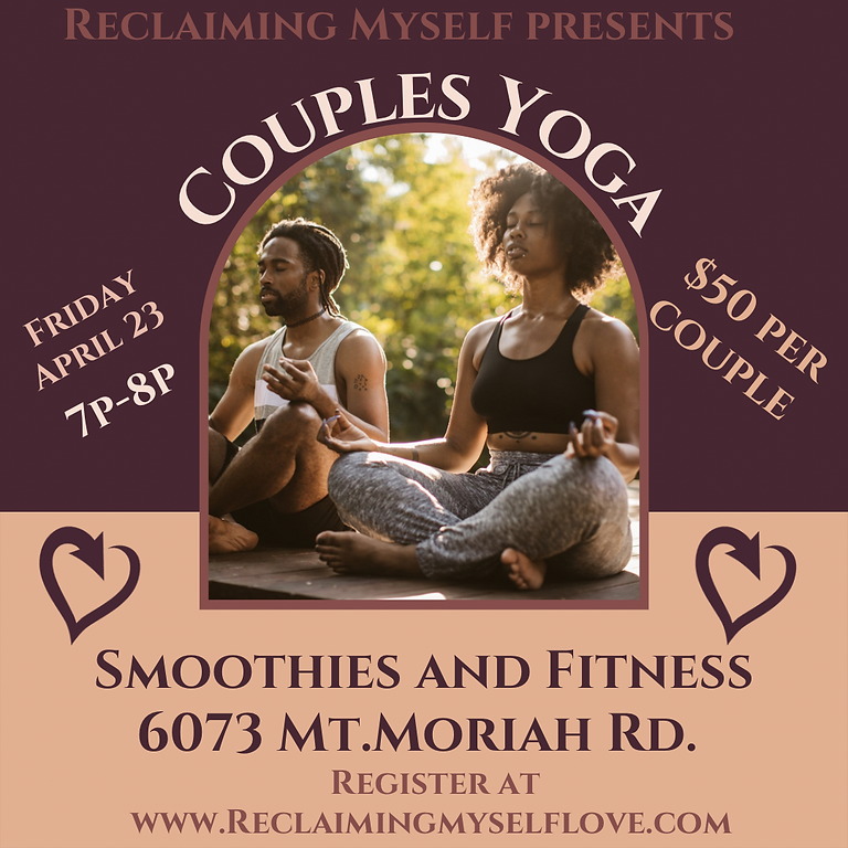 Couples Yoga (In-Person)