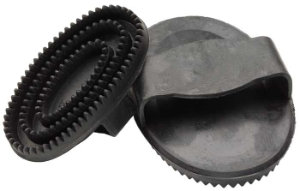 Rubber Curry Comb - Small