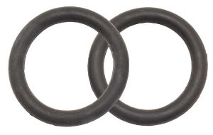 Peacock Iron Rubbers- Pair