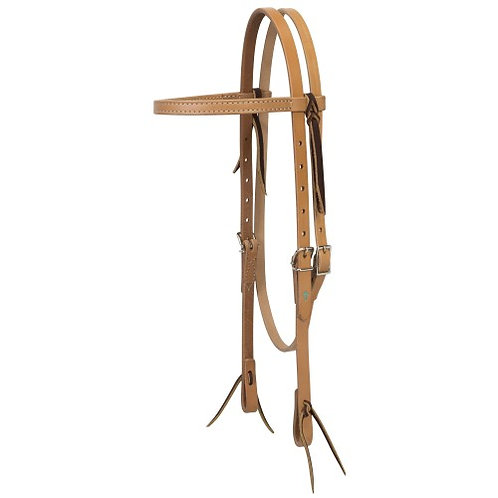 Weaver Turquoise Cross Browband Headstall