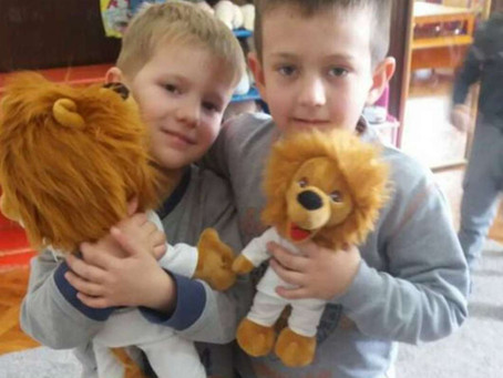 In Montenegro, Children Roar with Happiness
