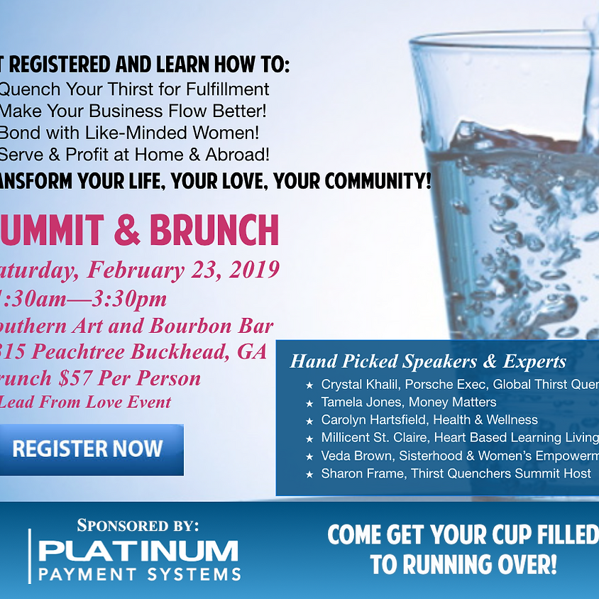 Thirst Quenchers Summit