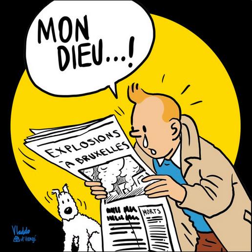 Tintinnel gyászol a világ