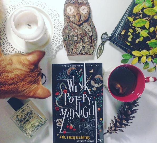 Melyik szereplő vagy a Wink Poppy Midnight című regényből?