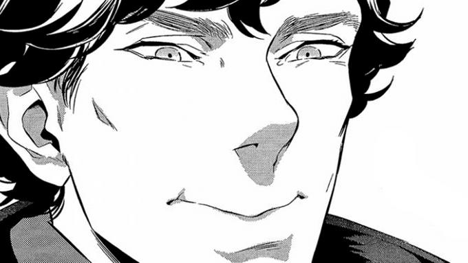 Jön a Sherlock-manga!