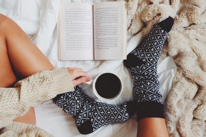 7 gyönyörű könyves zokni