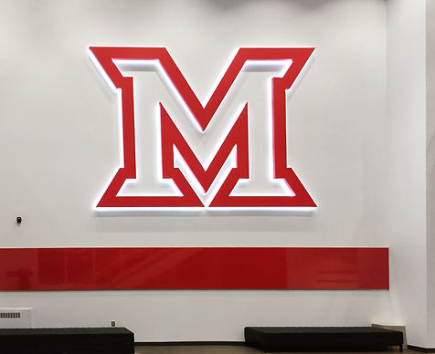 Miami U Metal backlit logo.jpg