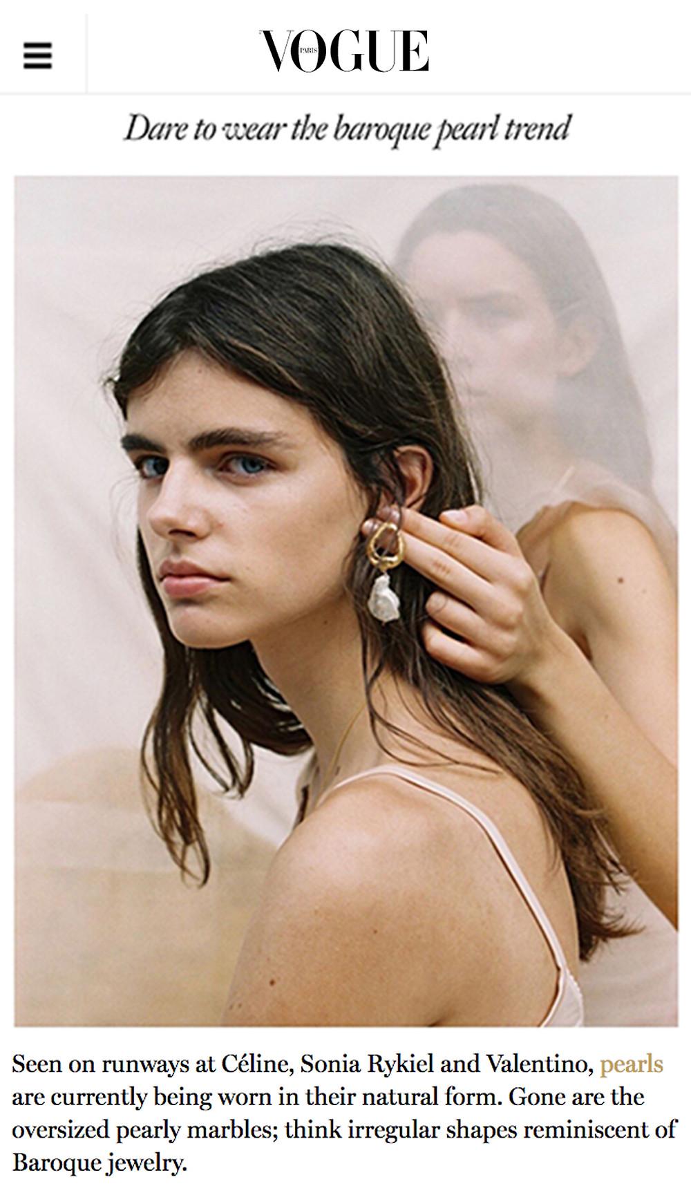 5+2 Baroque Pearl Jewellery Trend