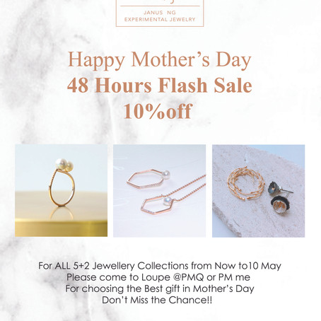 Happy Mother's Day 48-Hour Flash Sale 10% OFF