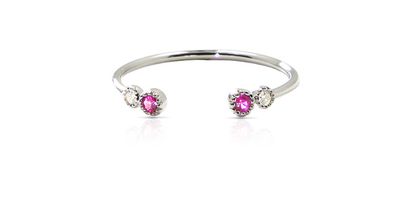 Stackable GEMS Ring #3