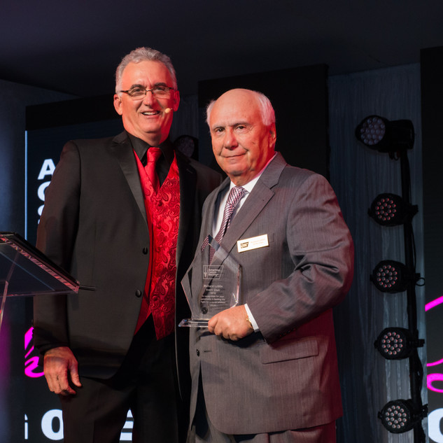 Scott Robertson and Richard Lublin with award.jpg