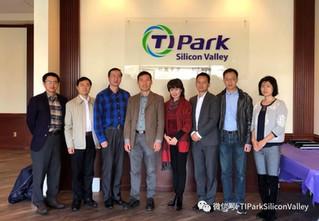 【TIPark News】中华人民共和国驻旧金山总领事馆科技参赞祝学华一行人参访TIPark Silicon Valley